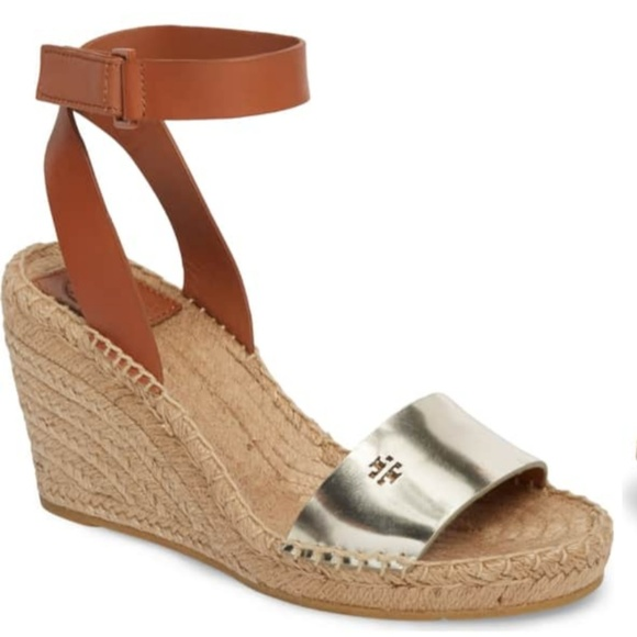 91735b531bbc Tory Burch Bima 2 Wedge Espadrille Sandals